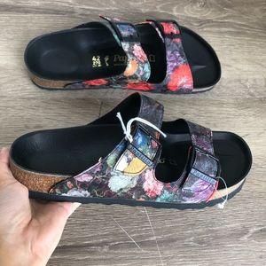 NEW Birkenstock Papillio Arizona Bouquet Sandals